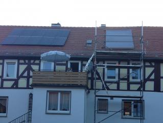 Brauchwasser-Solaranlage