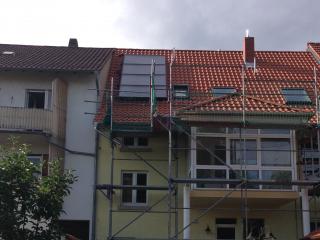 Kombi-Solaranlage