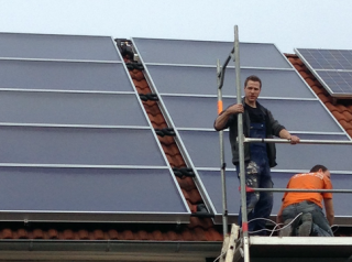 Solare Heizzentrale